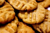 Flour less, Sugar-Free Peanut Butter Cookies